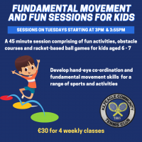 Fundamental Movement & Fun Sessions for Kids