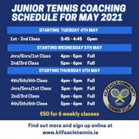 May 2021 Junior Coaching