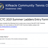 KCTC 2021 Summer Ladders